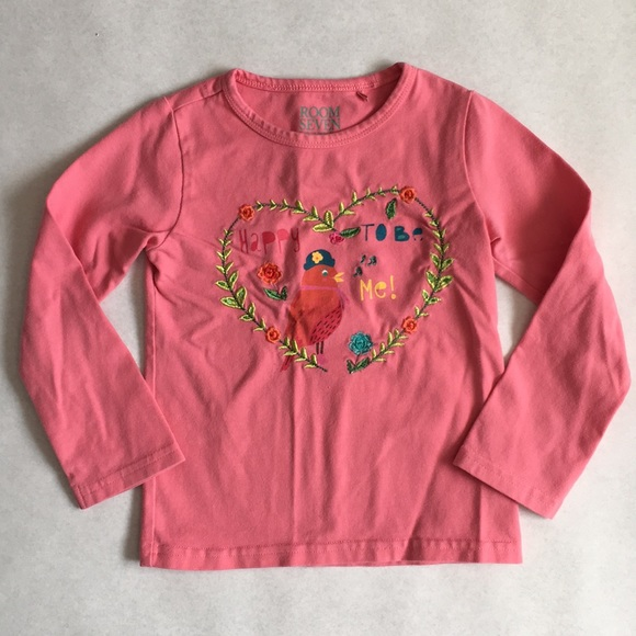 room seven Other - Room Seven pink Embroidered long sleeve 2T